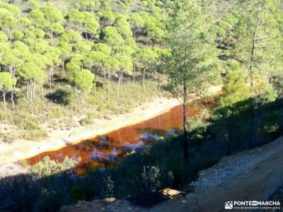 Sierra Aracena-Minas RíoTinto;alcobendas camino de santiago Rutas Madrid nivel basico rutas andando